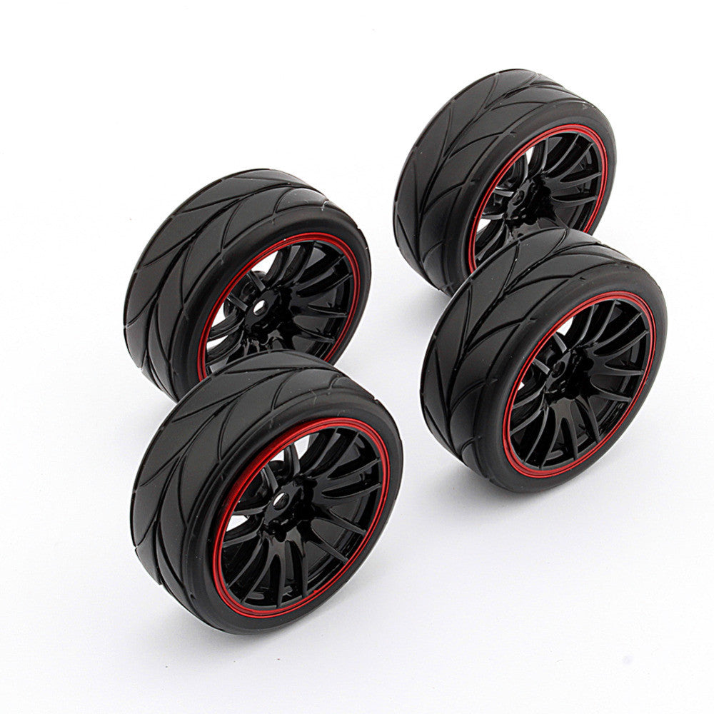 New 4PCS Rubber RC Racing Tires RC car parts car-styling Car On Road