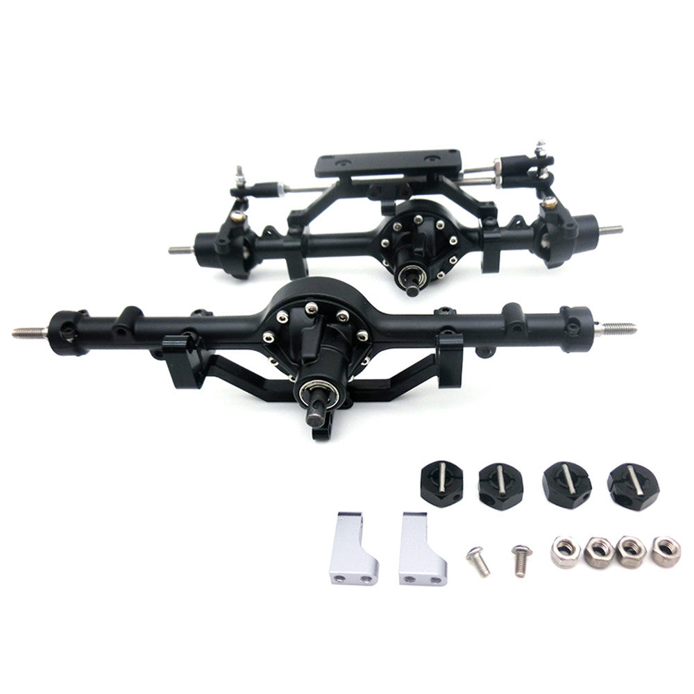 1:10 RC Crawler D90 Metal Alloy Front Axle / Rear Axle for 1/10 RC