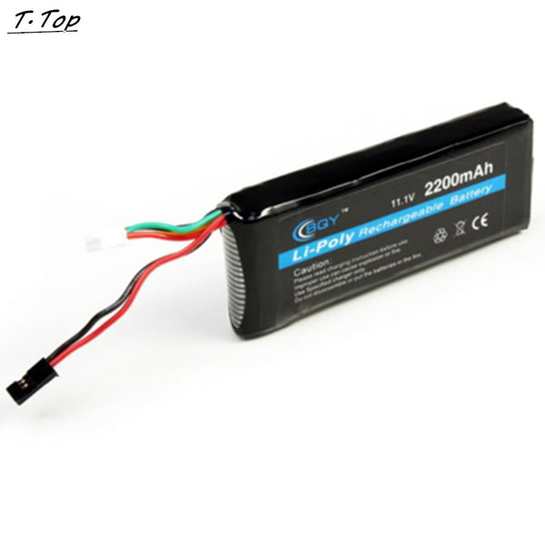 1pcs lipo 11.1v 2200mAh 3S 3PK Transmitter Rechargeable RC battery For FPV RC Quadcopter