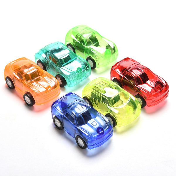1Pcs Funny Pull Back Car Cute Toy Cars For Child Hot Wheels Mini Car Model Kids Toys For Boys kids gifts