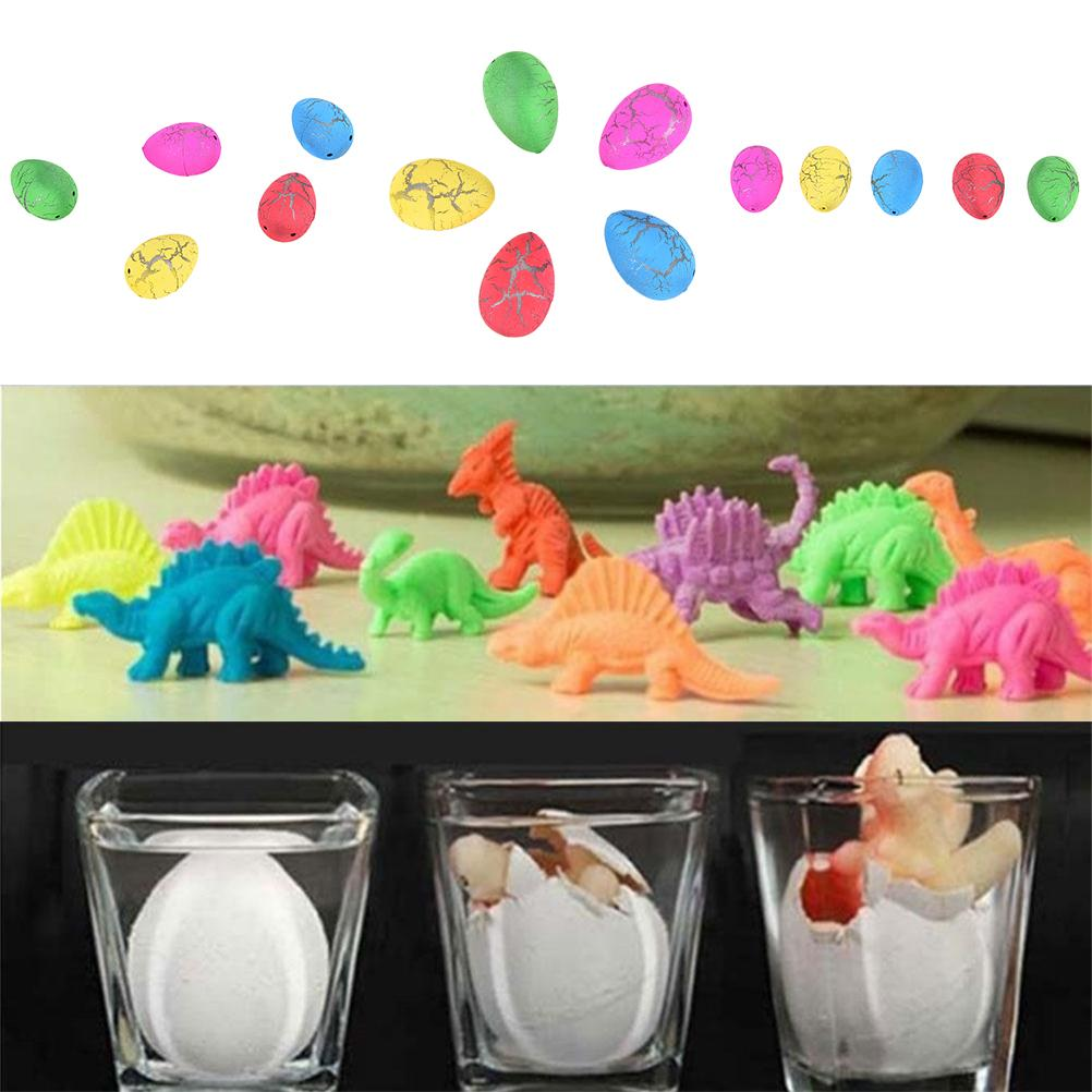 1Pc Magic Water Growing Egg Hatching Colorful Dinosaur Add Crack