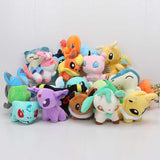 In Stock 20style Pocket doll Espeon Plush Flareon Umbreon Espeon Glaceon Vaporeon toy doll Toys Soft Stuffed Anime Cartoon Dolls