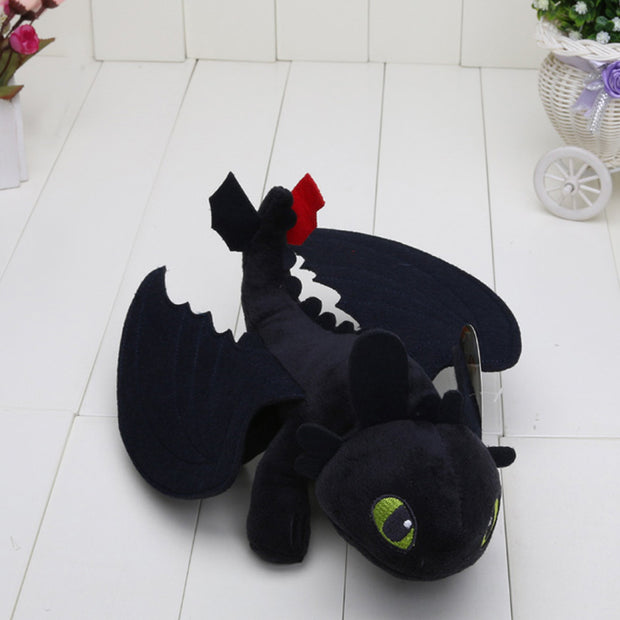 23cm How to Train Your Dragon 2 Dragon Plush toys Toothless Stormfly