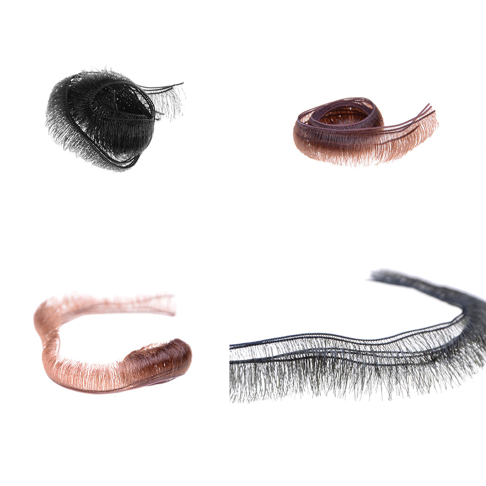 Wholesale 5pcs/lot 0.5/0.8/1.0cm Width Eyelashes For Doll Baby Dolls