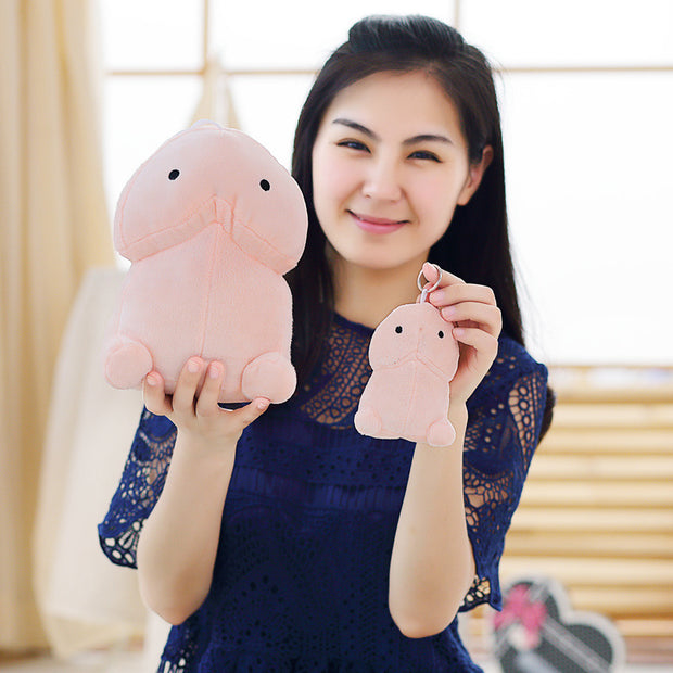 10/20cm Creative Plush Penis Toy Doll Funny Soft Stuffed Plush