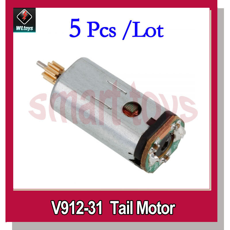 5Pcs V912-31 Tail Motor for Wltoys V912 RC Helicopter Spare Parts
