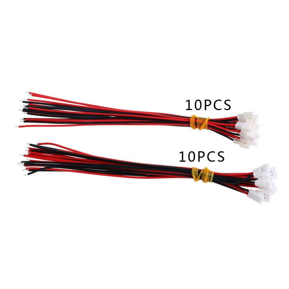 M89C10Pairs DIY JST DS LOSI 2.0MM 2 Pin Connector Plug Male Female