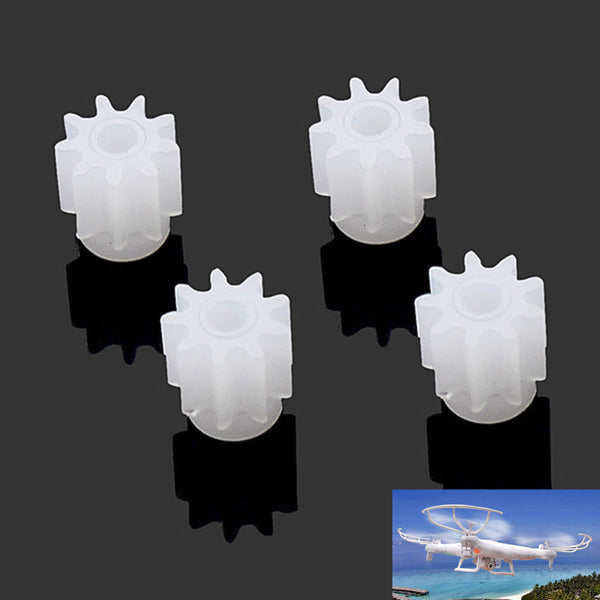 4Pcs Motor Engine Wheel Gear For SYMA X5C X5C-1 X5 RC Quadcopter Drone Spare Part Free shipping