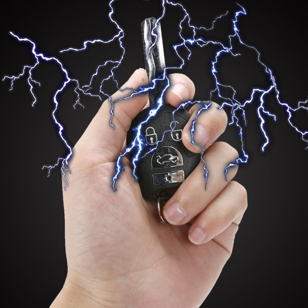 1 Pc Practical Joke Novelty Electric Shock Car Keys Kids Adults