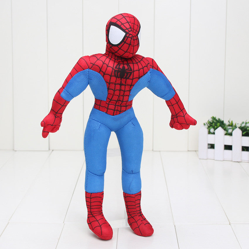 "12"" 30cm Spider man Stuffed Plush Toys The Avengers Spiderman Plush"