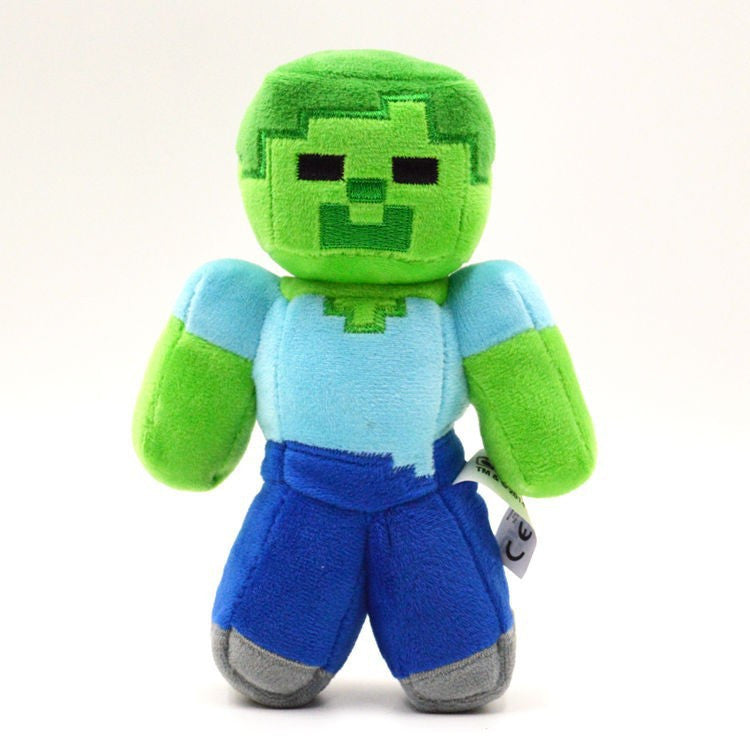 18cm 2017 New Minecraft Toys High Quality Minecraft Steve Zombies
