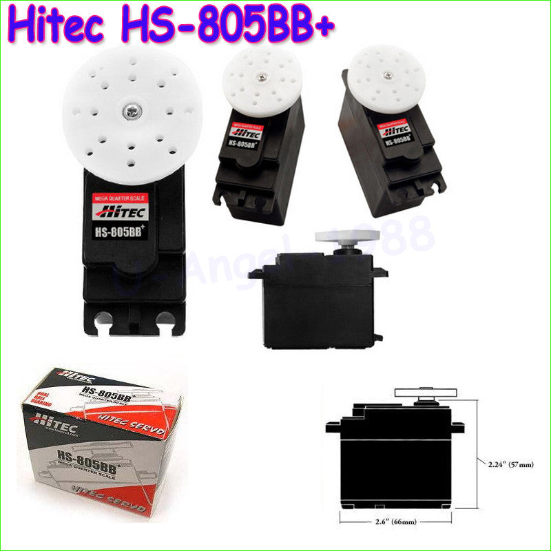1pcs 100% Original Hitec HS-805BB+ 152g / 24.7 kg / .14 sec major high