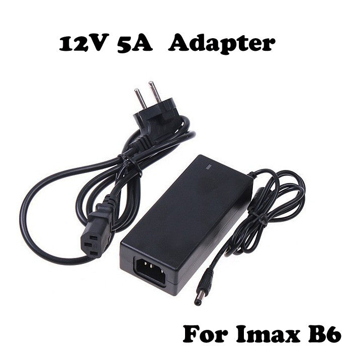 1pcs AC Converter Adapter DC 12V 5A For Imax B5 B6 Balancer Charger AC