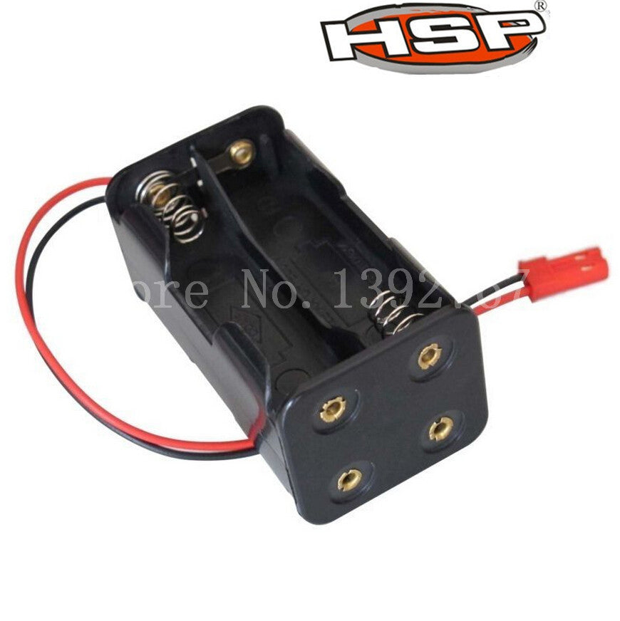 1Pcs 02070 HSP Battery Compartment AA Box Case Holder For 4WD Nitro RC