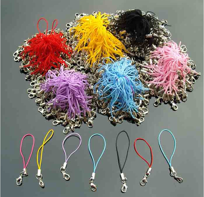 100pcs multicolor phone chain rope accessories for hama beads perler