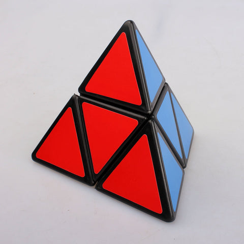 Simple Pyramid Magic Cube for Kids Puzzle Educational Toy