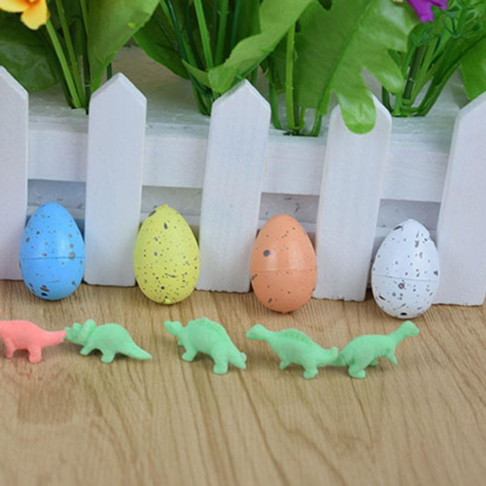 10 Pcs Magic Hatching Inflation add Water Growing Dinosaur Eggs