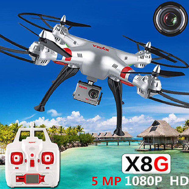 Syma X8G RC Drone with 8 MP HD Camera Professional Training Grade RC
