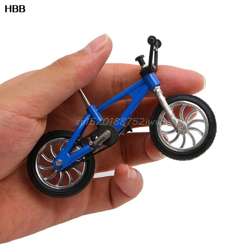 Finger Alloy Bicycle Model Mini MTB BMX Fixie Bike Boys Toy Creative