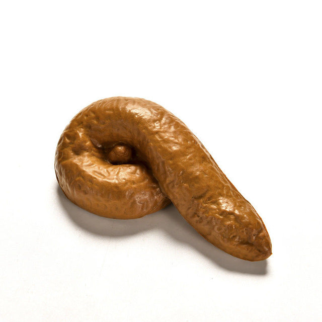 1PC Unisex Novelty Realistic Shits Poop Classic Shit Fake Turd