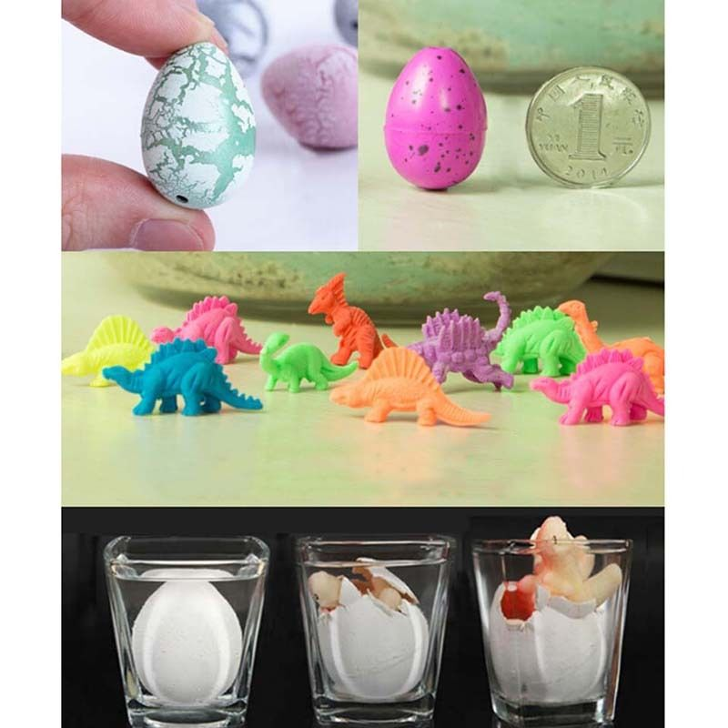 10Pcs Random color Magic Water Growing Egg Hatching Colorful