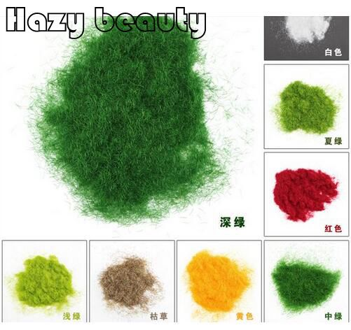 100g Hazy beauty Diy velvet grass turf lawn grass powder diy