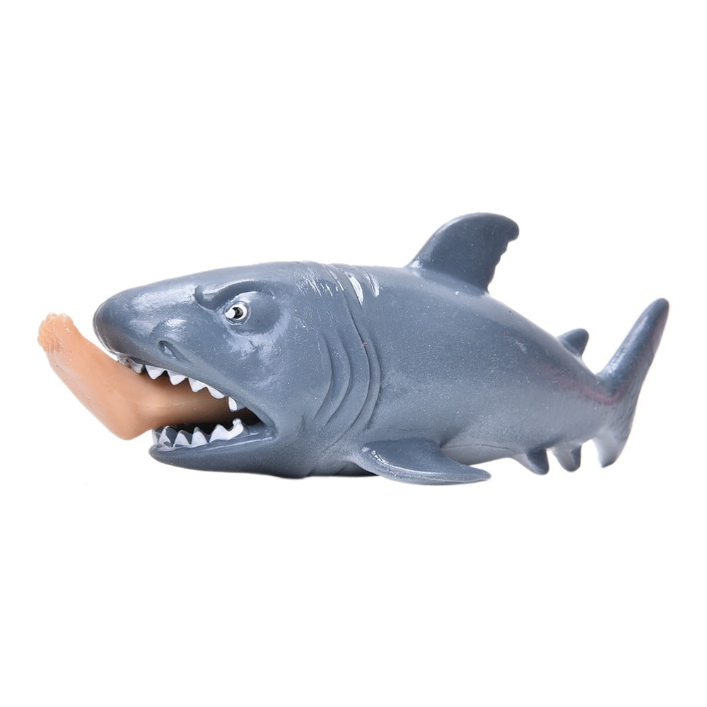 12cm x 3.5cm x 4cm 1 Pc Plastic Gags & Practical Jokes Toys Shark