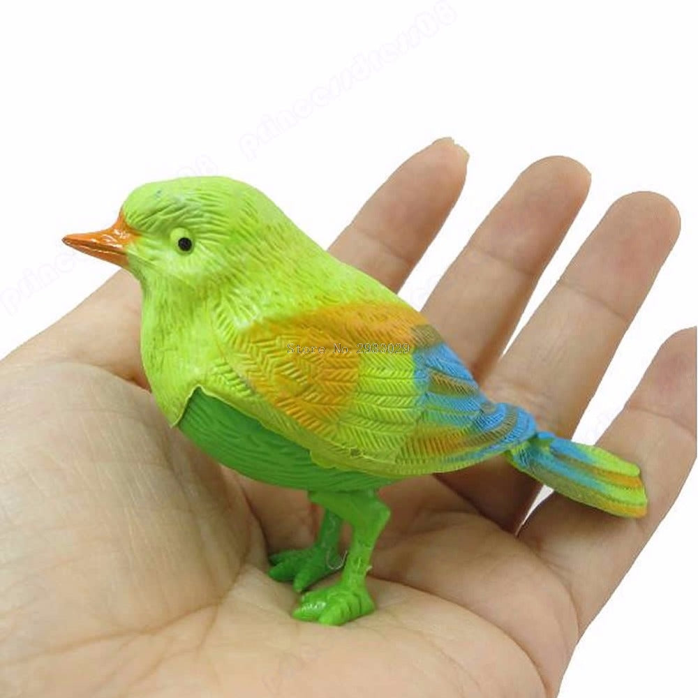1Pc Pretty Cute Funny Sound Voice Control Activate Toy Gift Chirping