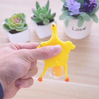 1 Piece Laying Egg Hens Chicken Funny Relax Toys  2 Sizes toys for