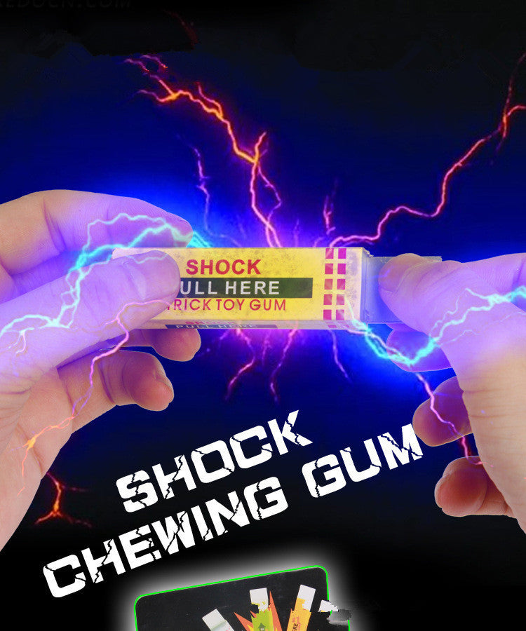 1pc Novel electric human chewing gum Tricky toys BIP Anyoutdoor