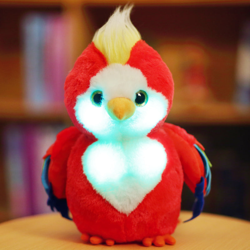 1pcs Chinese TV drama Cangwu bird parrot doll plush toy cute doll