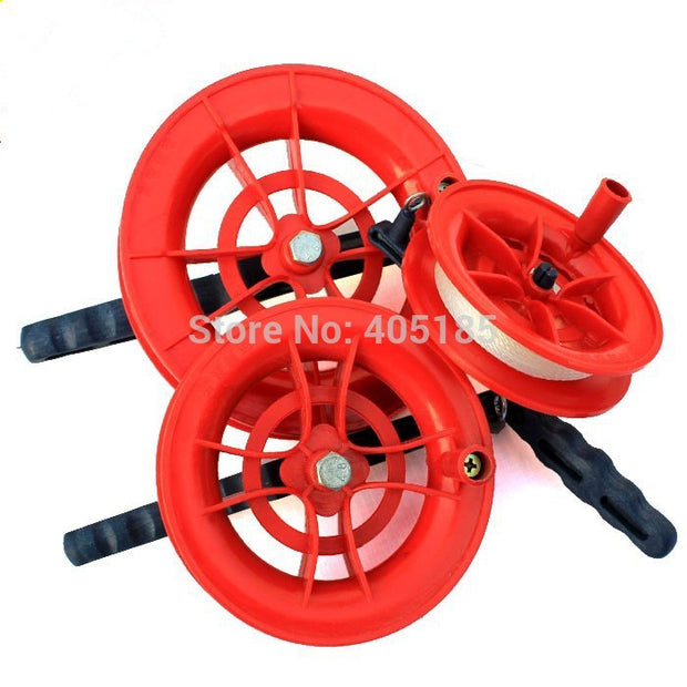 Free Shipping  Kite Flying tools Wheel Kite Winder /Handle with Line