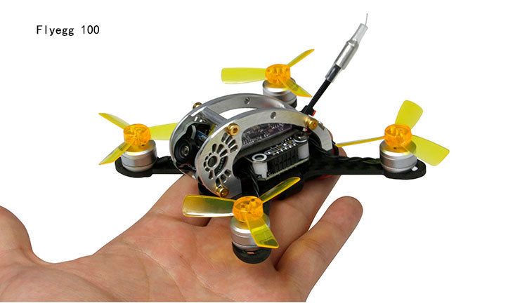 Flyegg 100 PNP FPV Racing Mini Indoor Brushless Drone Quadcopter