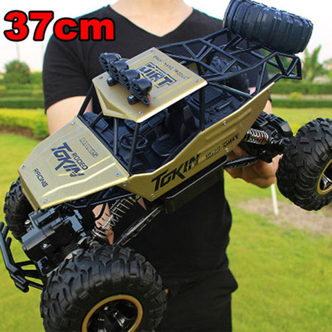 Large 37cm 1:12 RC Cars 4WD Radio Control RC Cars Toys 2017 High speed Trucks Off-Road RC Cars Toys for Children Christmas Gifts