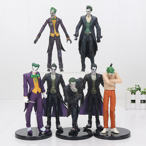 14-18CM anime The Joker figure PVC Action Figure Collectible Model Toy