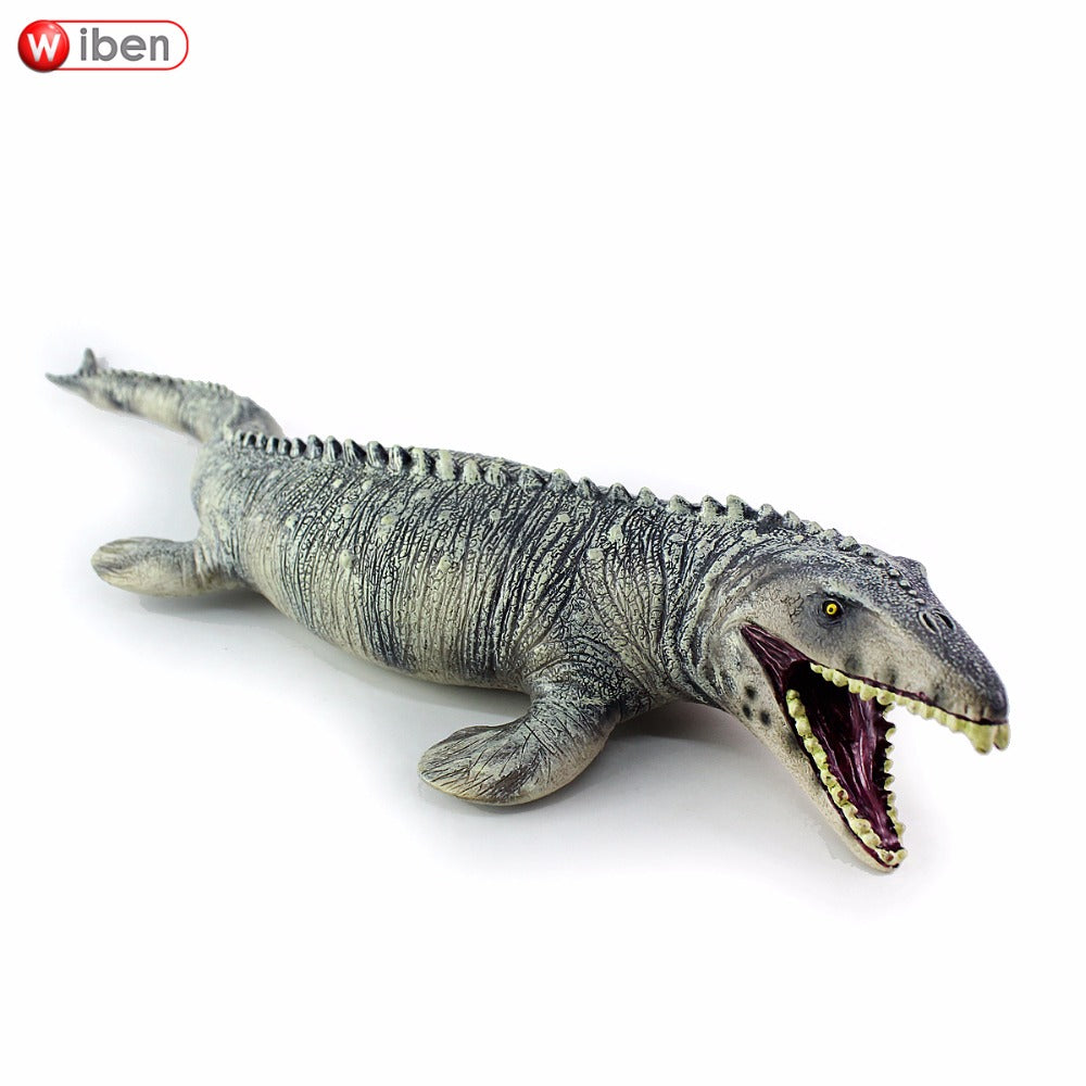 Jurassic Big Mosasaurus Dinosaur toy Soft PVC Action Figure Hand Painted Animal Model Collection Dinosaur Toys For Children Gift