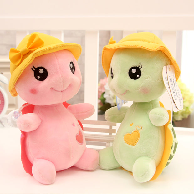 23cm Green Big Eyes Plush Tortoise Turtle Doll Toy Cute Soft Kids Baby