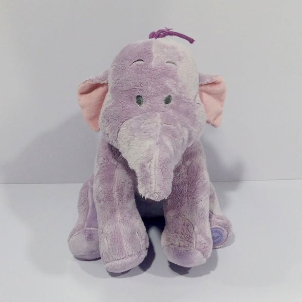 Original Lumpy Purple Elephant Cute Soft Stuff Plush Toy Baby Birthday
