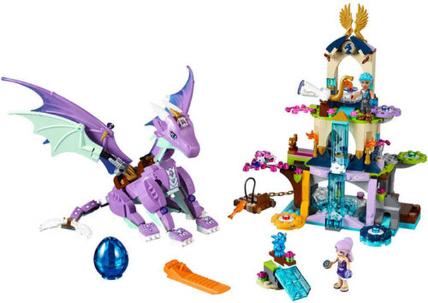 New Elves 10549 The Dragon Sanctuary Building Bricks Blocks DIY