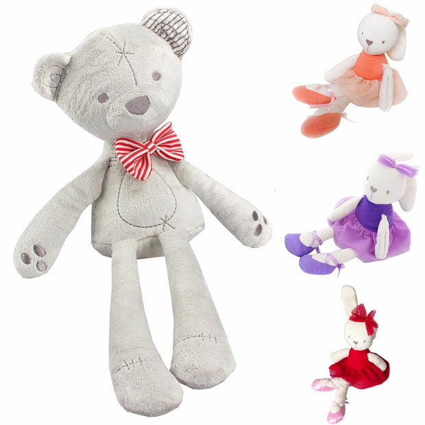 42cm Cute Rabbit Bear Doll Baby Plush Toy Soft Ballet Bunny Rabbit
