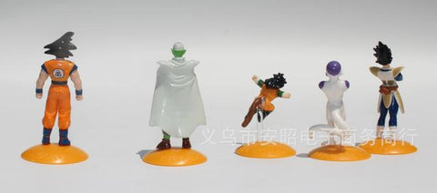 50PCS/lot Animiation figure capsule toys dragon ball, Assembling doll, Gift ornaments decoration baby toy