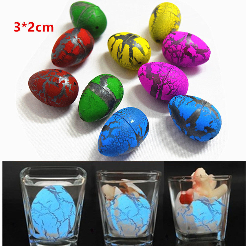 6Pcs Cute Magic Hatching Growing Dinosaur Eggs Novelty Gag Toys For Child Kids Educational Toys Gifts Add Water Growing Dinosaur