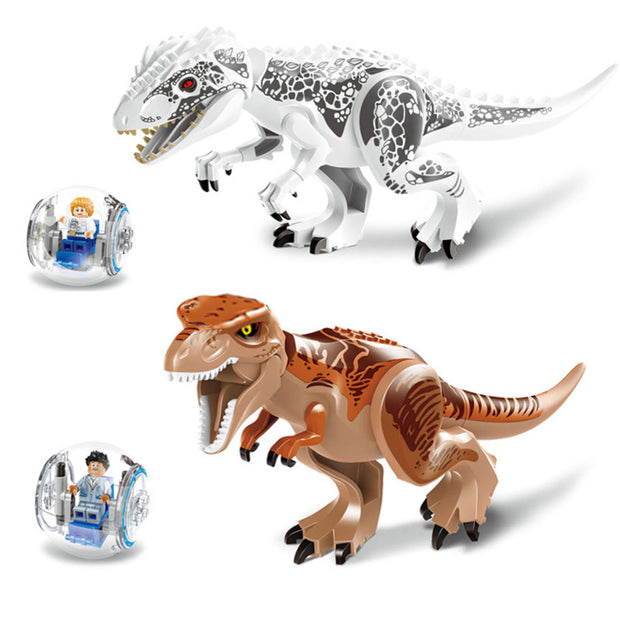 79151 Jurassic Dinosaur world Tyrannosaurs Rex Building Blocks Figure Toys Compatible With Legoings