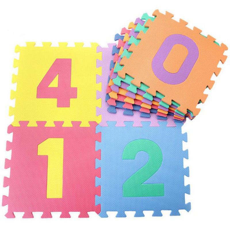 10pcs/set  Puzzle Carpet Baby Play Mat Floor Puzzle Mat EVA Children's