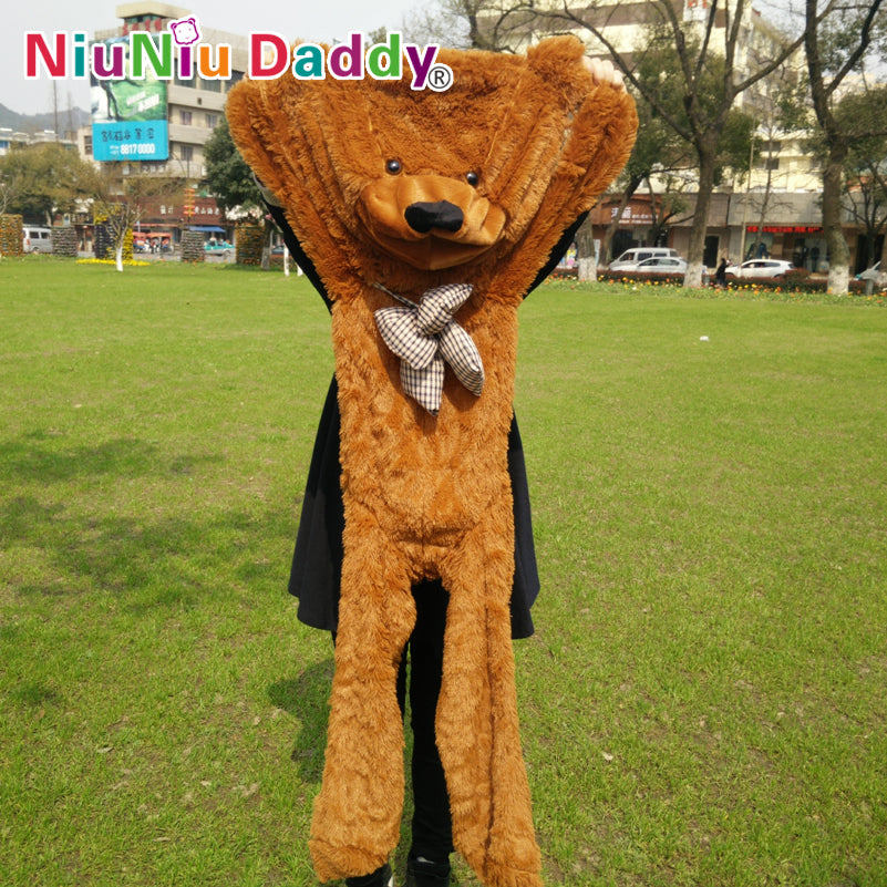"Niuniu Daddy 140cm/55"" inch Semi-finished products teddy bear"
