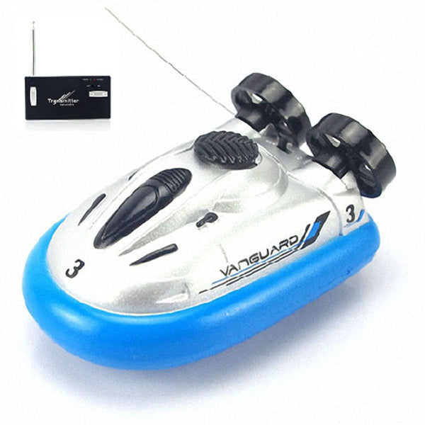2016 Classic Mini Radio Remote Control Hovercraft Hover RC Boats barco de pesca Water Gifts for Children Free Shipping Wholesale