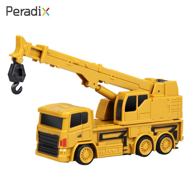 2018 Mini Rc Crane Novelty Mini Crane Model Cultivate Interest Rc Exercise Rc Truck Outdoors Drop Shipping