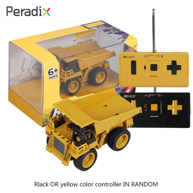 Stimulates Creativity Rc Truck Mini Lift Truck Cool Novelty Rc Lift Truck Yellow Rc Entertainment Beginning Ability Exercise
