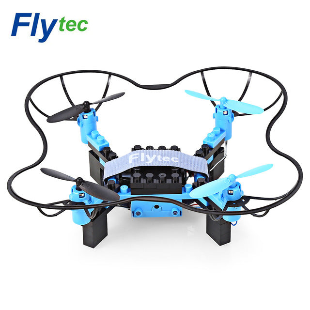 DIY Building Blocks RC Quadcopter WiFi FPV 30W Camera 2.4G 6-axis Gyro Altitude Hold Headless Mode 3D Unlimited Flip Aircraft