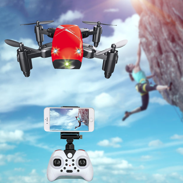 S9 Foldable RC Helicopter Mini Camera Drone WiFi Altitude Hold Quadcopter Aircraft Educational Birthday Gifts for Kids Adults
